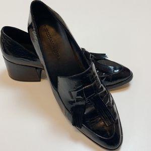 Rebecca Minkoff Edie Loafer Shiny Black Patent